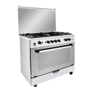 Fresh Plaza Gas Cooker: 5 Burners: 90cm - 4179