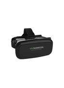 VR Shinecon Virtual Reality 3D IMAX Video Games Glasses for Smartphones, Black