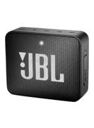 JBL GO 2 Water-Resistant Portable Bluetooth Speaker Midnight Black