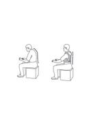 Generic Posture Back Support Corrector 90 - 110centimeter