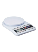 Generic Weighting LCD Scale White