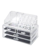 Clear Acrylic Cosmetic Organizer Makeup Box Case