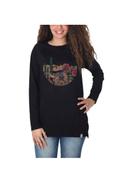 NAS Trends Printed Long Sleeves T-shirt Black Brown Green