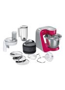 Bosch Kitchen Machine Food Mixer MUM58420 Clear Red White Silver