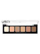 Golden Rose 6-Shade Cream Concealer Palette Multicolour