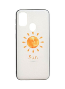 Generic Tpu Anti Slip Cover For Samsung M30S - Clear