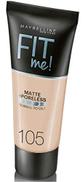 Maybelline New York Fit Me Matte & Poreless Foundation - 105 Natural Ivory