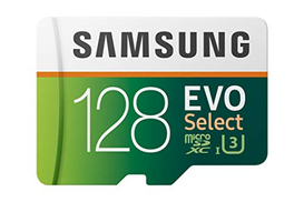 Samsung MicroSDXC Memory Card