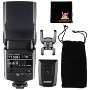 GODOX TT560 II for Canon & Nikon TT5602 GN38