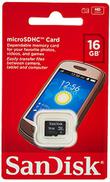 Sandisk 16GB MicroSD Memory Card - SDSDQM-016G-B35 B35A