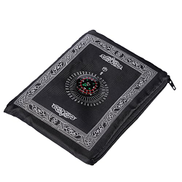 Hitopin Portable Travel Prayer Mat with Compass Pocket Sized Carry Bag and Attached Compass Praying Rug Portable Nylon Waterproof Easy Praying Mat 60 100cm