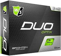 wilson DUO OPTIX GREEN WGWP50400 12-BALL