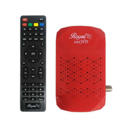 Other Royal 100 Full HD Mini Receiver With 2 Port - Red 100HD