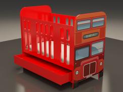 London Bus Crib