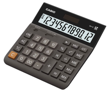 Casio 12 Digits Desk Top Calculator DH12-BK, Black