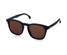 Carrera CaR 143 Square Frame Sunglasses - Brown Lens