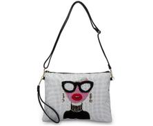JB Clutch Bag For Women - White