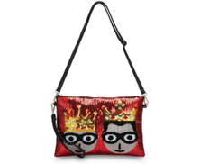JB Clutch Bag For Women - Red