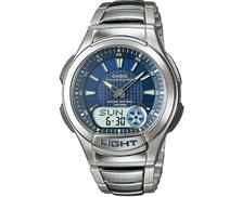 كاسيو ساعة يد كوارتز بعقارب عادية AQ-180WD-2AVDF للرجال
