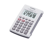CASIO HL-820LV-WE Portable Practical Calculator 820LV