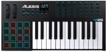 Alesis VI25 Advanced 25 مفتاح تحكم USB-Midi