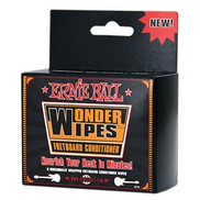 Ernie Ball Wonder Wipes 6-Pack Fretboard Conditioner 4276