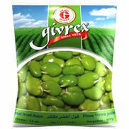 Givrex Peeled Broad Green Beans - 400gm
