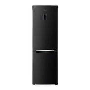 Samsung Freestanding Digital Combi Refrigerator With Twin Cooling Technology, No Frost, 2 Doors, 16 FT, Black - RB33J3230BC