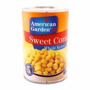American Garden Kernel Whole Corn - 425gm