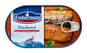 Fisherman Mackerel In Oil - 200gm