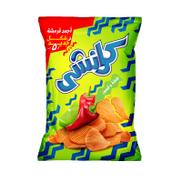 Chipsy Crunchy Chili & Lemon Potato Chips - 76 gm