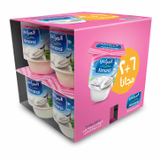 Almaraai Almarai Natural Yogurt: Light: 105 gm - Pack of 6+2