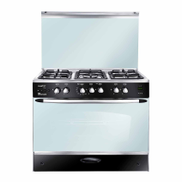 UNIONAIRE:I-COOK Unionaire Gas Cooker: 5 Burners: 90 cm: Stainless Steel - C6090SS-GC-255-F-FG