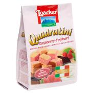 Loacker Quadratini Mini Wafer With Raspberry & Yogurt Cream - 110 gm