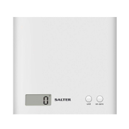 Salter 1066 WHDR ARC Electronic Kitchen Scales 3 KG- White 1066WHDR