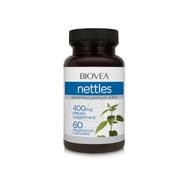 NETTLES 400mg 60 Vegetarian Capsules by BIOVEA