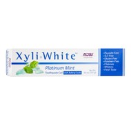 XyliWhite PLATINUM MINT TOOTHPASTE GEL with BAKING SODA Fluoride-Free 6.4oz 181g by XyliWhite