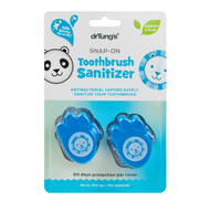 drTung's KID'S SNAP-ON TOOTHBRUSH SANITIZER by Dr. Tung's