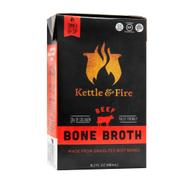 BEEF BONE BROTH Grass-Fed Paleo-Friendly 16.2 Fl. Oz 480 ml by Kettle & Fire