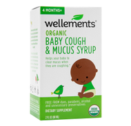 ORGANIC DAYTIME BABY COUGH & MUCUS SYRUP by Wellements