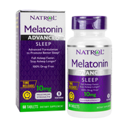 MELATONIN ADVANCED SLEEP 10mg Maximum Strength, Time Release 60 Tablets by Natrol