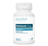 MELATONIN 3mg 60 Capsules by EuroVital