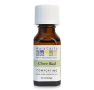 CLOVE BUD ESSENTIAL OIL 0.5 oz 15ml by Aura Cacia