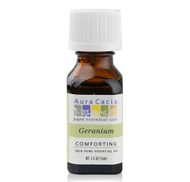 GERANIUM ESSENTIAL OIL 0.5 oz 15ml by Aura Cacia