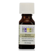 TEXAS CEDARWOOD ESSENTIAL OIL 0.5 oz 15ml by Aura Cacia