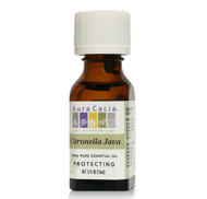 CITRONELLA JAVA ESSENTIAL OIL 0.5 oz 15ml by Aura Cacia