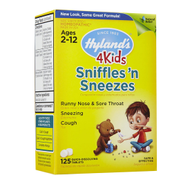 SNIFFLES N SNEEZES 4 KIDS 125 أقراص من Hyland