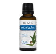 BIOVEA Aromatherapy EUCALYPTUS ESSENTIAL OIL 1 fl. oz 30ml by BIOVEA