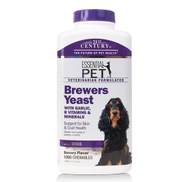 BREWERS YEAST 1000 Chewable Tablets by 21st Century