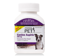 CANINE ASPIRIN ADVANCED 300mg Large Breed Savory Flavor 120 Chewable Tablets by 21st Century